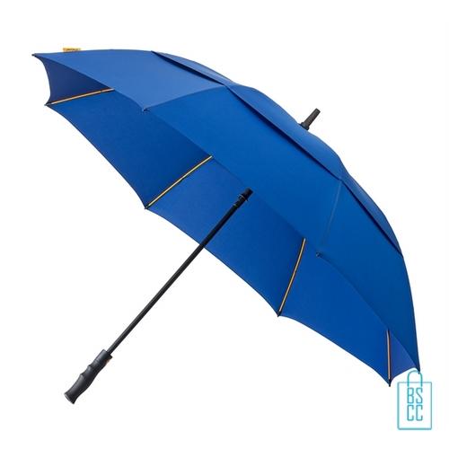 Luxe paraplu bedrukken GP-76 stevig blauw