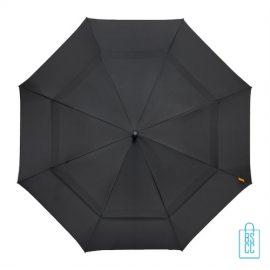 Luxe paraplu bedrukken GP-76 windproof zwart
