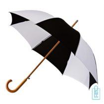 Luxe paraplu bedrukken LA-18 zwart wit