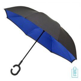 Luxe paraplu bedrukken RU-6 blauw