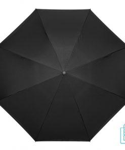 Luxe paraplu bedrukken RU-6 zwart door handvat multifuntioneel