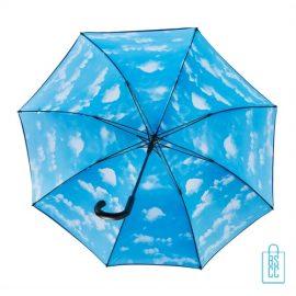 Luxe paraplu bedrukken wolk regen GP-54 onderzijde