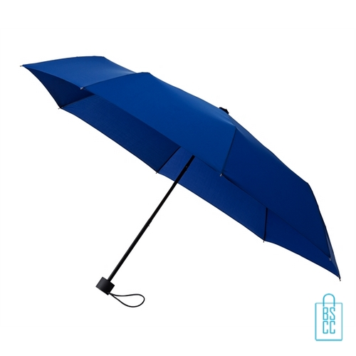 Opvouwbare paraplu bedrukken LGF-209 navy