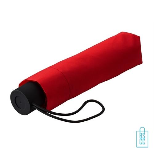 Opvouwbare paraplu bedrukken LGF-209 rood goedkoop