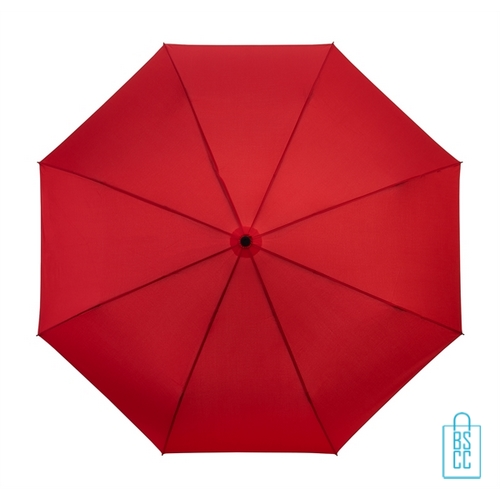 Opvouwbare paraplu bedrukken LGF-209 rood