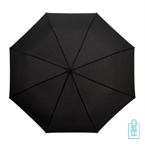Opvouwbare paraplu bedrukken LGF-209 zwart goedkoop