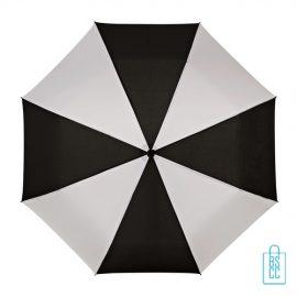 Opvouwbare paraplu bedrukt LGF-210 zwart wit