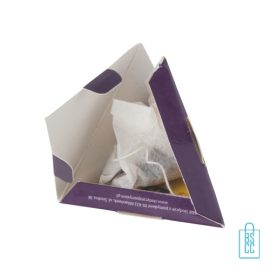 Lipton pyramide theezakje bedrukken