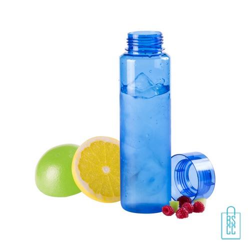 Bidon transparant modern 780ml bedrukt fruit