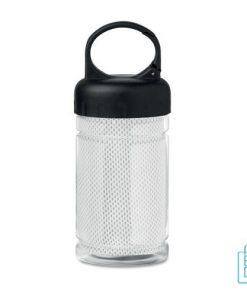 Drinkfles met handdoek bedrukken transparant