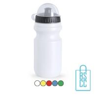 Sport bidon plastic 550ml met logo goedkoop dop