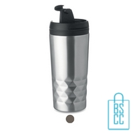 Thermosbeker modern 280ml bedrukt goedkoop
