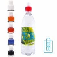 Waterfles bedrukken rond 500ml sportdop