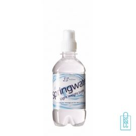 Waterflesje bedrukken 330 ml sportdop wit