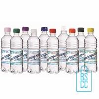 Waterflessen bedrukken geribbeld 500 ml platte dop