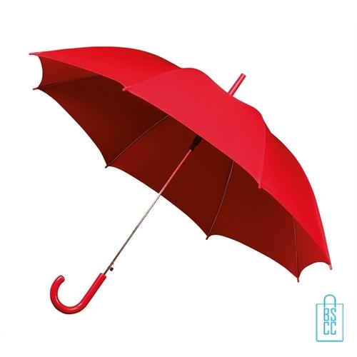 Goedkope paraplu bedrukken GA-310 rood