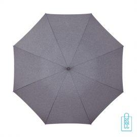 Luxe paraplu bedrukken GR-407 goedkoop doek blauw paars
