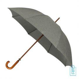 Luxe paraplu bedrukken GR-407 goedkoop grijs denim
