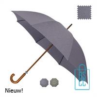 Luxe paraplu bedrukken GR-407 goedkoop met logo