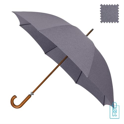 Luxe paraplu bedrukken GR-407 goedkoop paars blauw