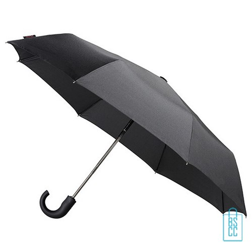 Opvouwbare paraplu GF-528 goedkoop bedrukte zwart