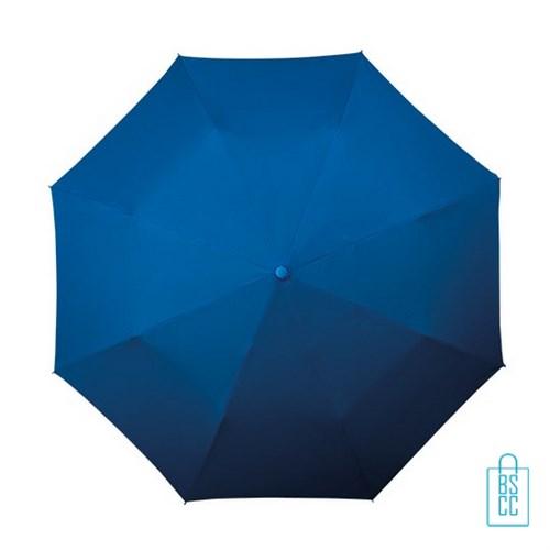 Opvouwbare paraplu, LGF-400 goedkoop bedrukken blauw