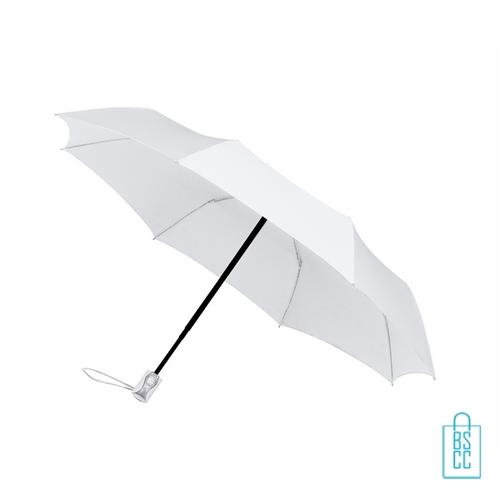 Opvouwbare paraplu, LGF-400 goedkoop bedrukt witte