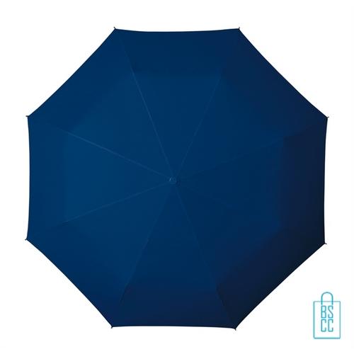 Opvouwbare paraplu bedrukken LGF-420 blauw