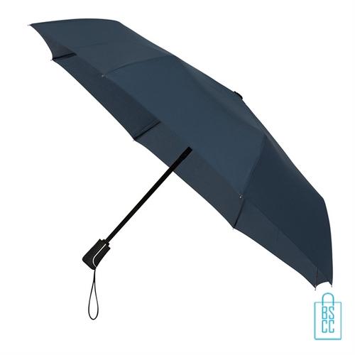 Opvouwbare paraplu bedrukken LGF-420 blauwgrijs