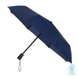 Opvouwbare paraplu bedrukken LGF-420 navy blauw