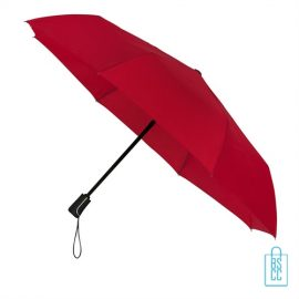 Opvouwbare paraplu bedrukken LGF-420 rood
