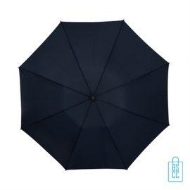 Opvouwbare paraplu bedrukken LGF-420 zwart doek