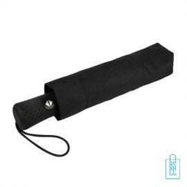Opvouwbare paraplu bedrukken LGF-420 zwart foedraal