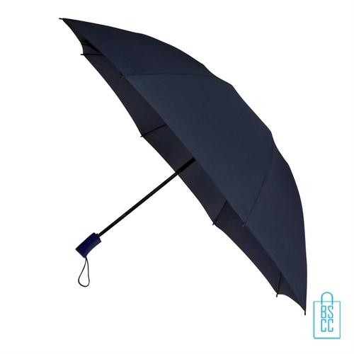 Opvouwbare paraplu insideout LGF-406 bedrukken navy budget
