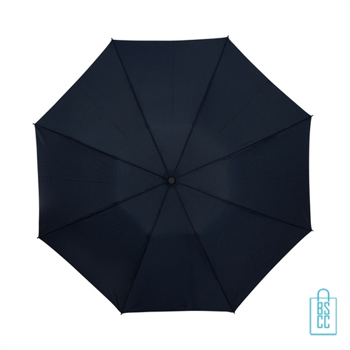 Opvouwbare paraplu insideout LGF-406 bedrukken navy doek