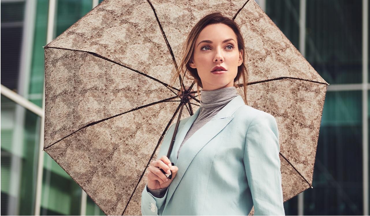 Paraplu met dierenprint kopen aanbieding