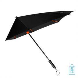 StorMaxi Display Impliva stormparaplu bedrukken speciale editie oranje