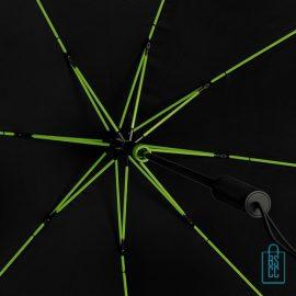 StorMaxi Impliva goedkoop stormparaplu bedrukken Special Edition neon groene baleinen