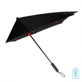 StorMaxi Impliva stormparaplu goedkoop bedrukken Special Edition rode kleur