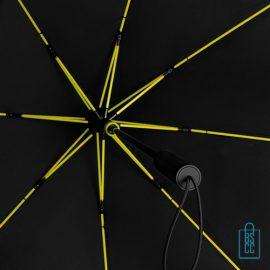 StorMaxi Impliva stormparaplu goedkoop bedrukt Special Edition neon geel baleinen