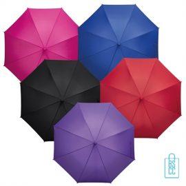 Tulp paraplu TLP-8 Assorti bedrukken met logo