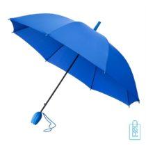 Tulp paraplu TLP-8 bedrukken blauw