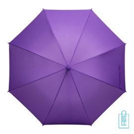 Tulp paraplu TLP-8 bedrukt met logo paars