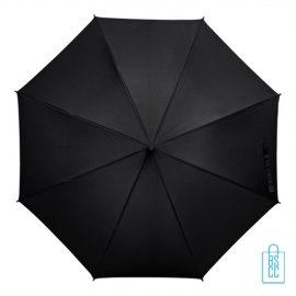Tulp paraplu TLP-8 bedrukt met logo zwart