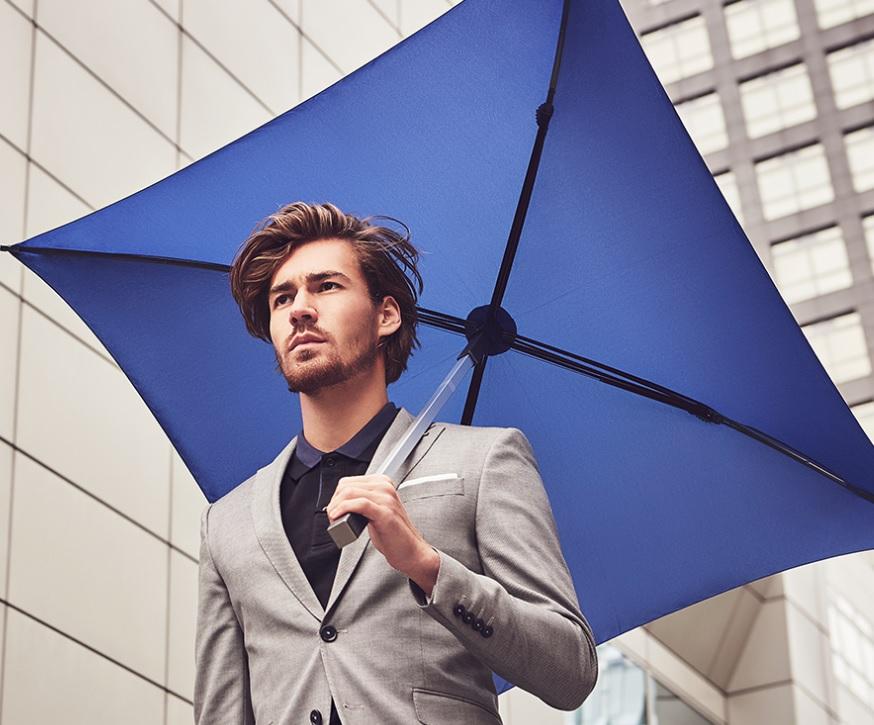 Vierkante paraplu bedrukken design