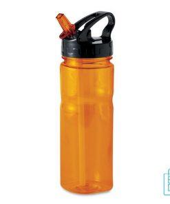Bidon Kunststof goedkoop bedrukt oranje