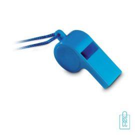Fluitje bedrukken blauw