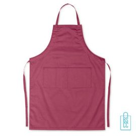 Keukenschort zakken bedrukken goedkoop bordeaux