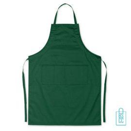 Keukenschort zakken bedrukken goedkoop groen