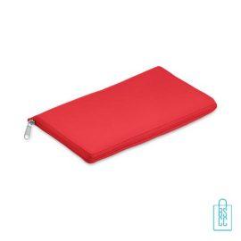 Koeltas shopper bedrukken opvouwbaar rood